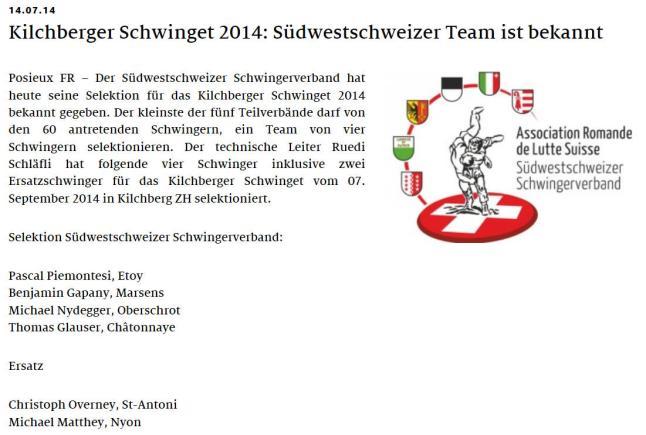 sws-team für kilchberger
