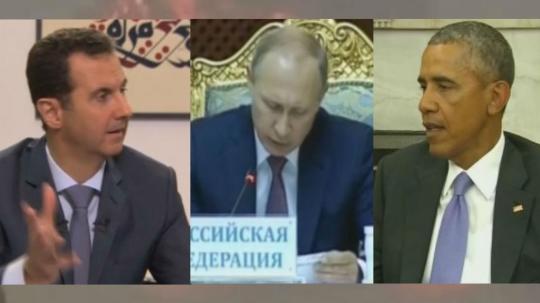 Assad, Putin und Obama